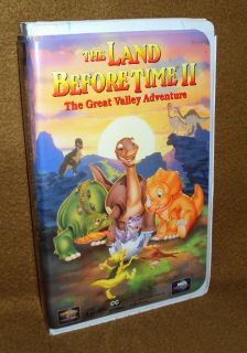 VHS - Land Before Time II