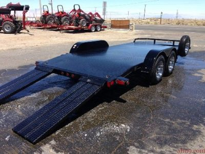 Race Car Hauler, Bumper Pull Car Trailers,  Big Tex Car Trailers 70DM-18