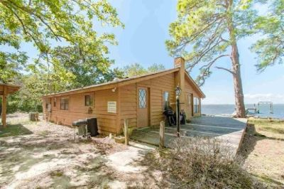 Waterfront Home with 5 Acres on Bon Secour Bay!
