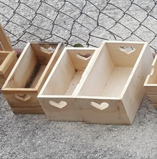 wood boxes $1.00 each