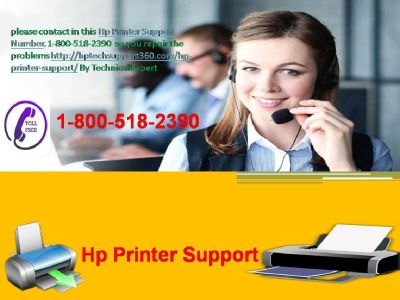 Get Awesome Services Of Hp Printer Support 1-800-518-2390