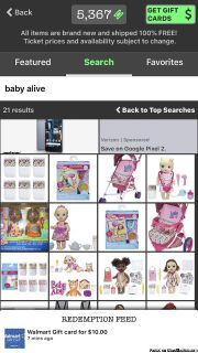Baby alive and other kids toys for FREE
