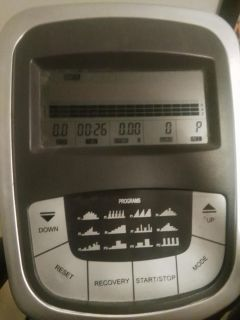 Great working and looking elliptical moving need gone fast