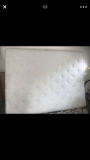 Queen mattress with box spring