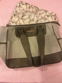 Eddie Bauer Diaper Bag with Changing Pad