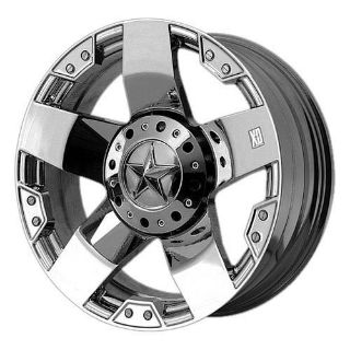 Purchase KMC XD Series Rockstar 22 x 12, 8 x 170 -44 Offset Chrome (1) Wheel/Rim motorcycle in Kent, Washington, US, for US $442.00