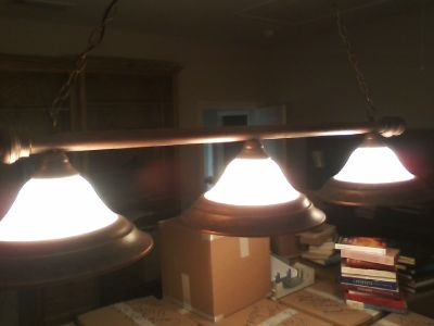 3-Lamp Pool Table Light