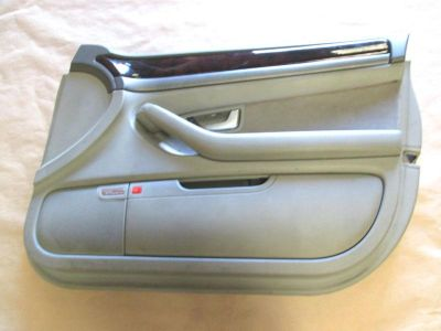 Buy 04 AUDI A8 QUATTRO INTERIOR TRIM DOOR PANEL FRONT RIGHT PASSENGER GRAY OEM motorcycle in Riverview, Florida, US, for US $125.00