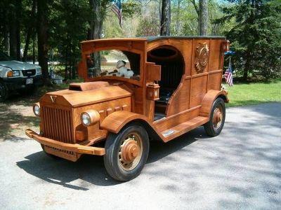 1936 Ford Wood Vehicle