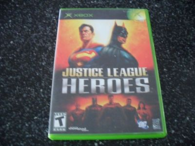 Justice league heroes..xbox game