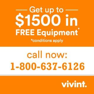 Vivint Smart Home Security | Call now:-1-800-637-6126 for $0 Activation Charge.