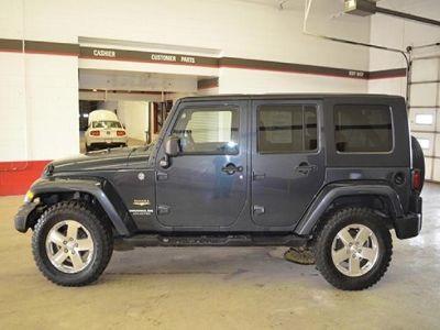 2008 Jeep Wrangler Unlimited Sahara (Black)