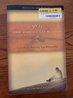 Your marriage can be saved book