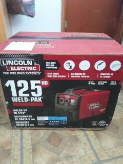 Lincoln Electric 125HD Weld Pack