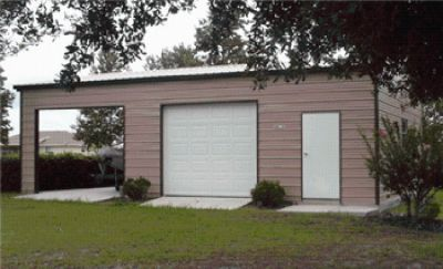 Steel buildings, garages, sheds and more.