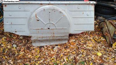 1955-1962 Bench seat bulkhead