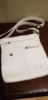 Stone & Co white leather purse from Kohl's