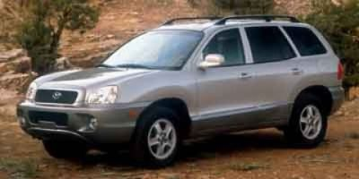 2003 Hyundai Santa Fe GLS (Red)