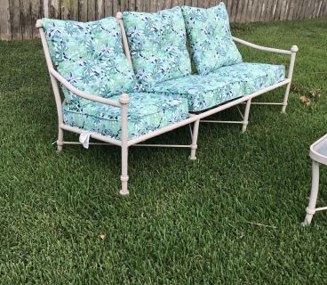 Outdoor Furniture - Couch and Table
