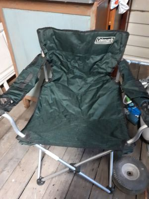 Coleman folding chair, pick up in Brazoria