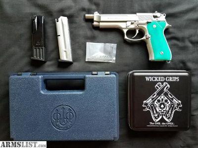 For Sale: Custom Beretta 92fs Inox $1000 OBO