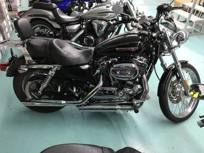 2009 Harley-Davidson Sportster 1200 Custom Cruiser Motorcycles Coloma, MI