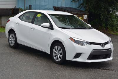 2016 Toyota Corolla 4dr Sdn CVT LE Premium (Natl) (Super White)