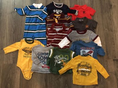 Baby boy size 6-12 month clothing lot