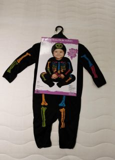 New 12-24 month bones outfit