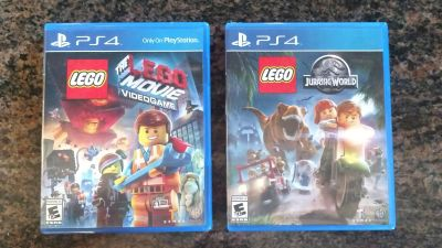 PS4 Lego Video Games