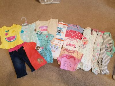 0-3 Baby Girl Clothes Lot
