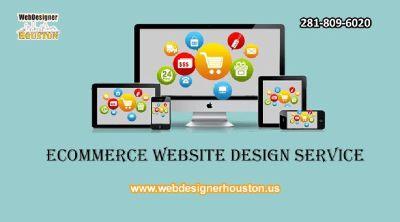 Ecommerce Website Design service houston