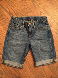 Jean short for girls size 7