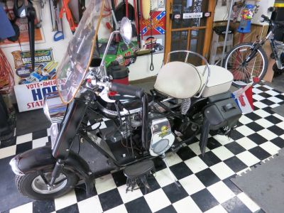 1959 Cushman Eagle Scooter.