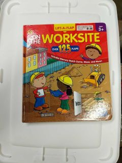 Large Lift the flap book