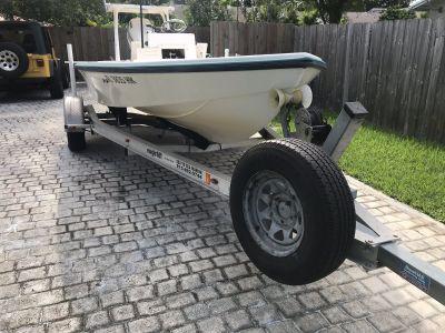 Magic Tilt aluminum single axle trailer