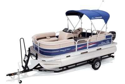 2017 Sun Tracker Party Barge 18 DLX Pontoon Boats Boats Gaylord, MI