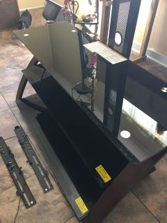 Flat Screen TV Stand Up to 55 Mounting Hardware included