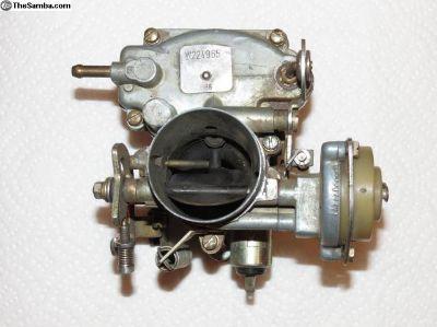 Brazilian Weber Carburetor 30 mm throttle?
