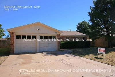 Nicely updated home in Quiet Southwest Lubbock neighborhood
