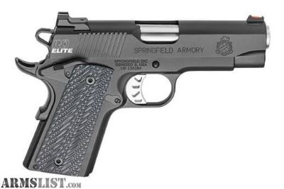For Sale: New in box Spring field Range Officer Elite Compact .45acp