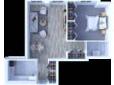 Maple Grove Apartments - One BR Floor Plan A1