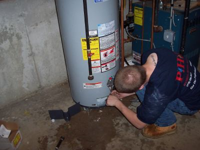 HOT WATER HEATER REPAIR & INSTALLATION.