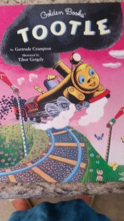 Golden Book - Tootle the Train - Like New Condition