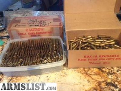 For Sale: Corrosive Primed Ammo 7.62 x 51