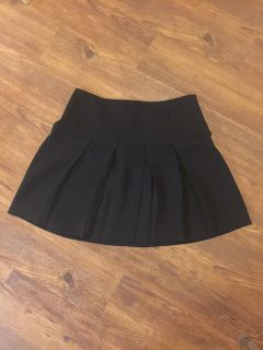 Super cute INC brand black pleated skirt. Perfect for Xmas or Xmas party! Size 12. Long enough to be classy but short enough to be sassy.EUC