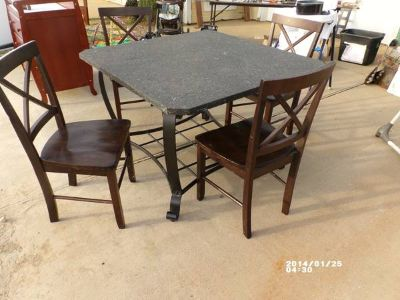 Dining Table and Chairs (Flint)