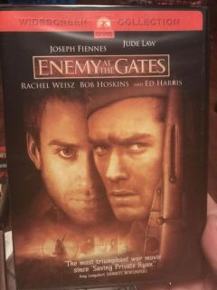 Enemy at the gates dvd