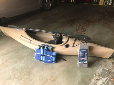 Old Town Loon Angler Kayak Set