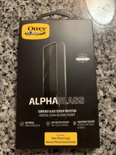 Alpha Glass from Otterbox for Xs Max brand new in box.
